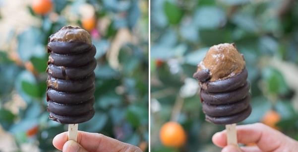 Σοκολατένιο Παγωτό Ξυλάκι