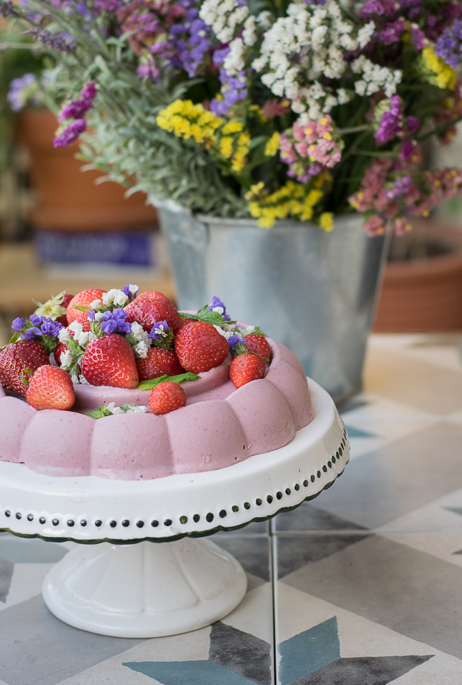 Παγωτό Φράουλα