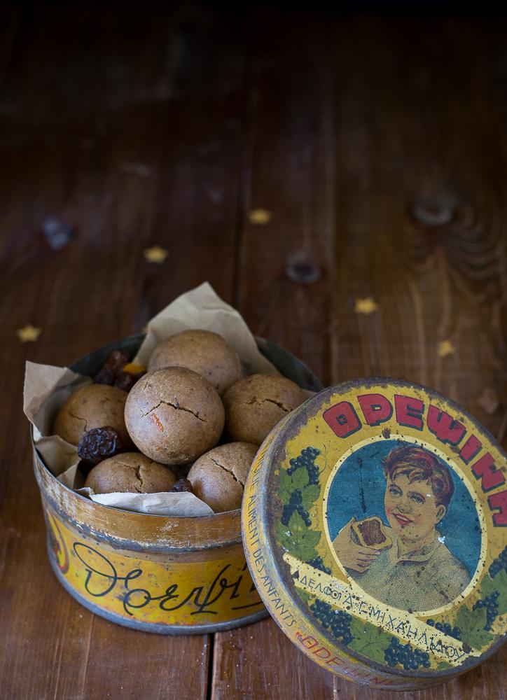 Κουλουράκια με Πετιμέζι