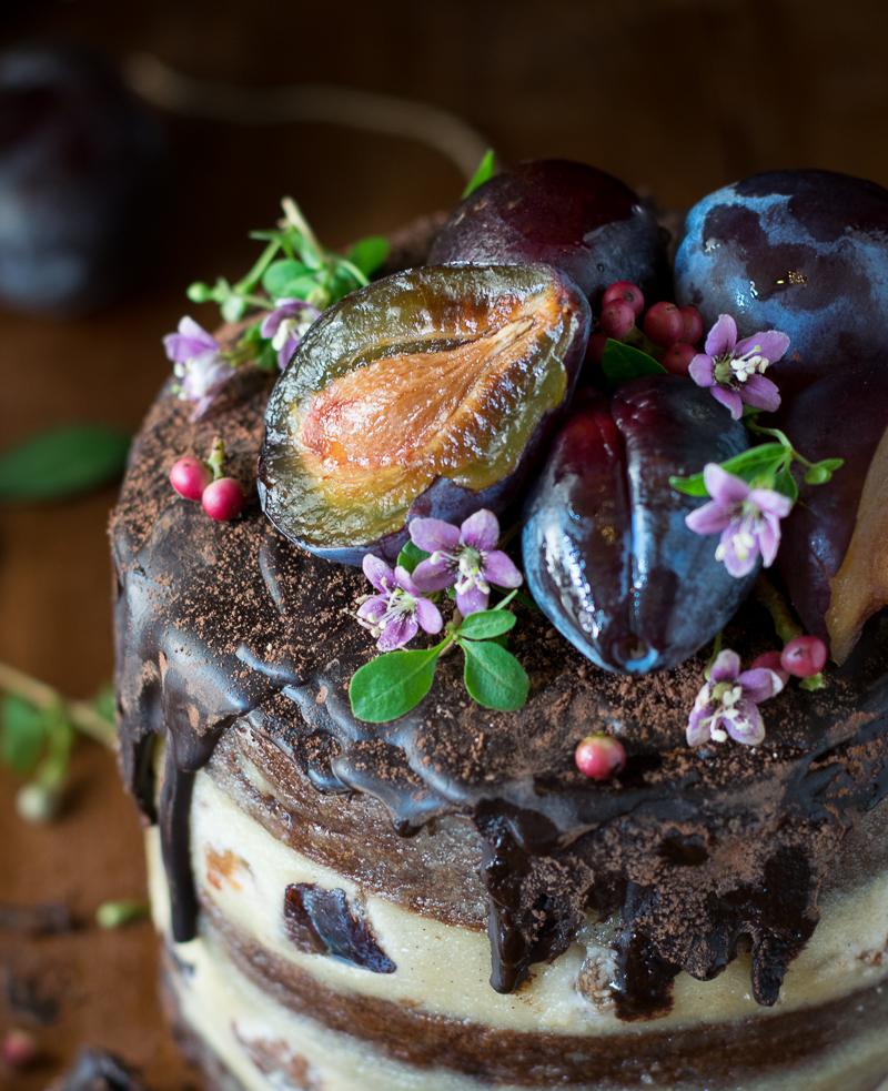 Κέικ με Δαμάσκηνα
